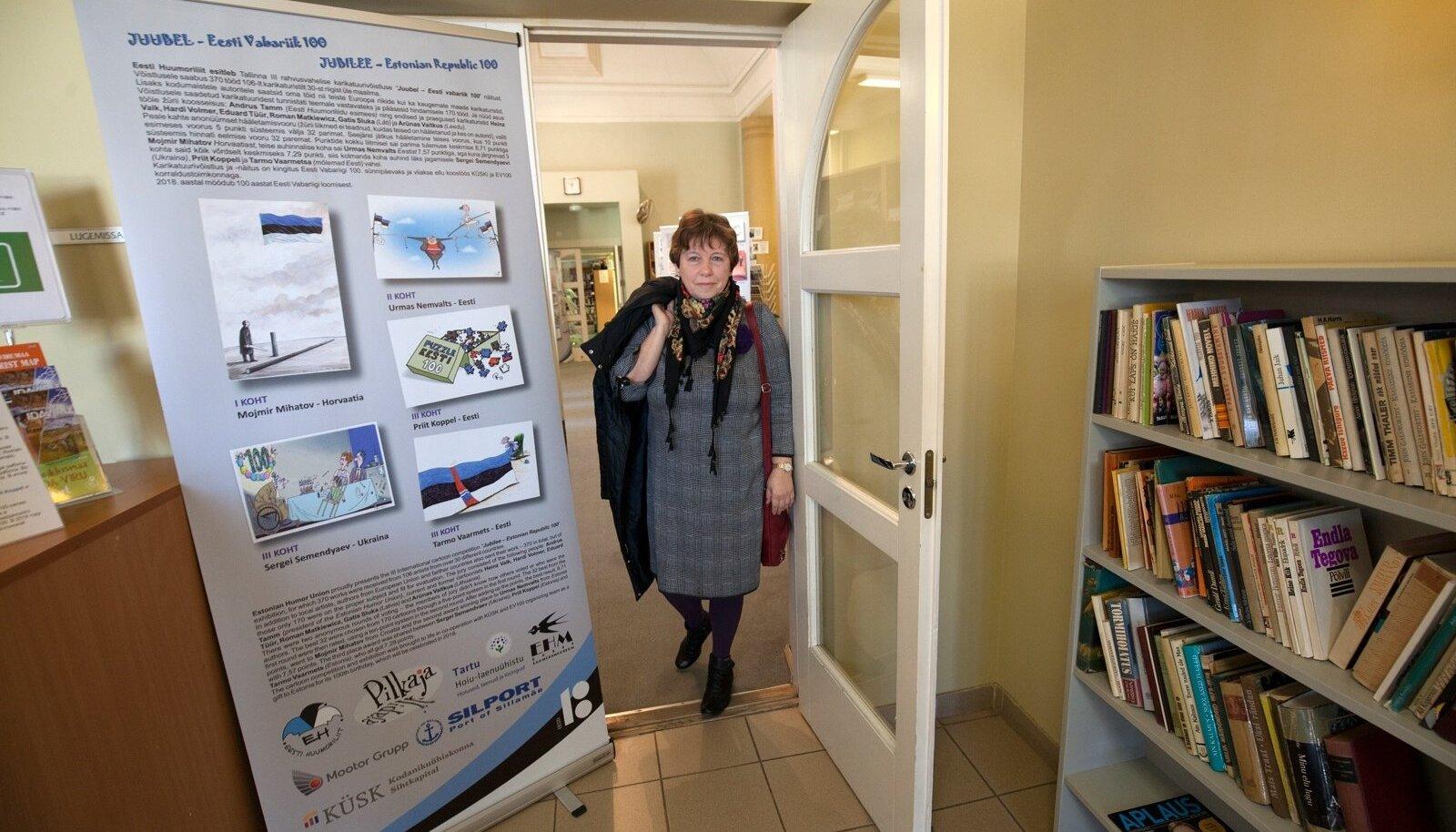 Keeldus Repinski alandavast rahasüstist: eneselegi üllatuseks on püstipäisest Ingrid Spitzist saanud Ida-Virumaal manipuleerivatele võimudele vastu hakkamise sümbol, näide hallideks hiirekesteks peetavate raamatukoguhoidjate tegelikust sisust.