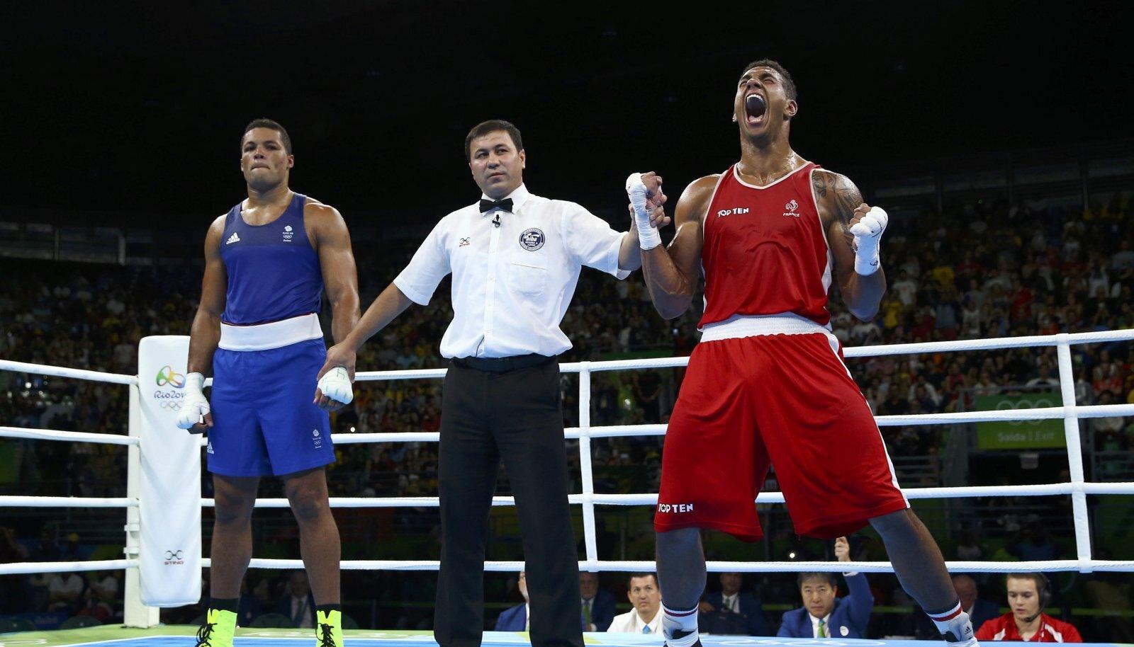 Rio olümpia üliraskekaalu finaal: Tony Yoka tunnistati võitjaks Joseph Joyce'i vastu.