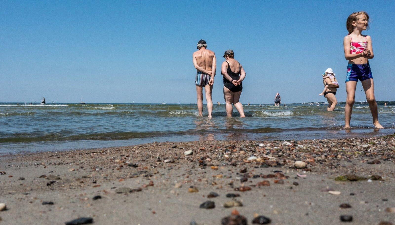 Terves Euroopas valitseb suvesoe õhumass ja nii ka meil.