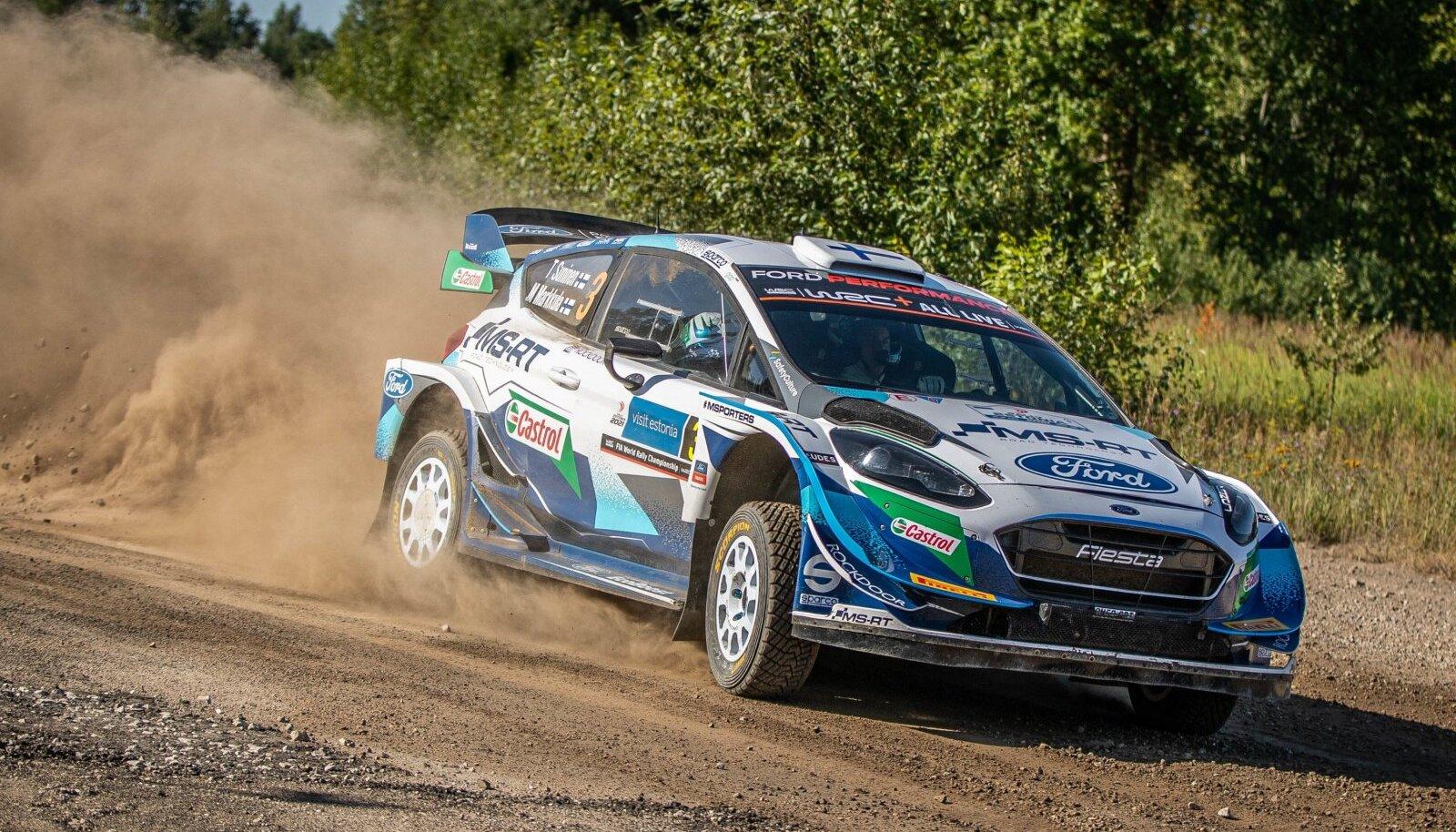 Teemu Suninen Rally Estonial. Kas soomlane saab sügisel WRC masinaga võimaluse ka kodusel Soome MM-etapil?