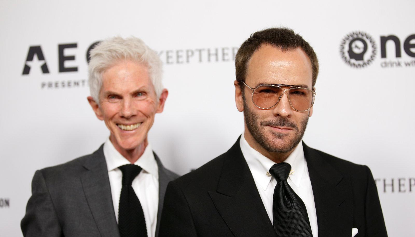 Модный журналист Ричард Бакли (слева) и дизайнер Том Форд