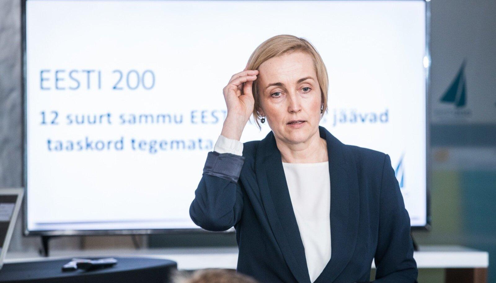Eesti 200 juht Kristina Kallas