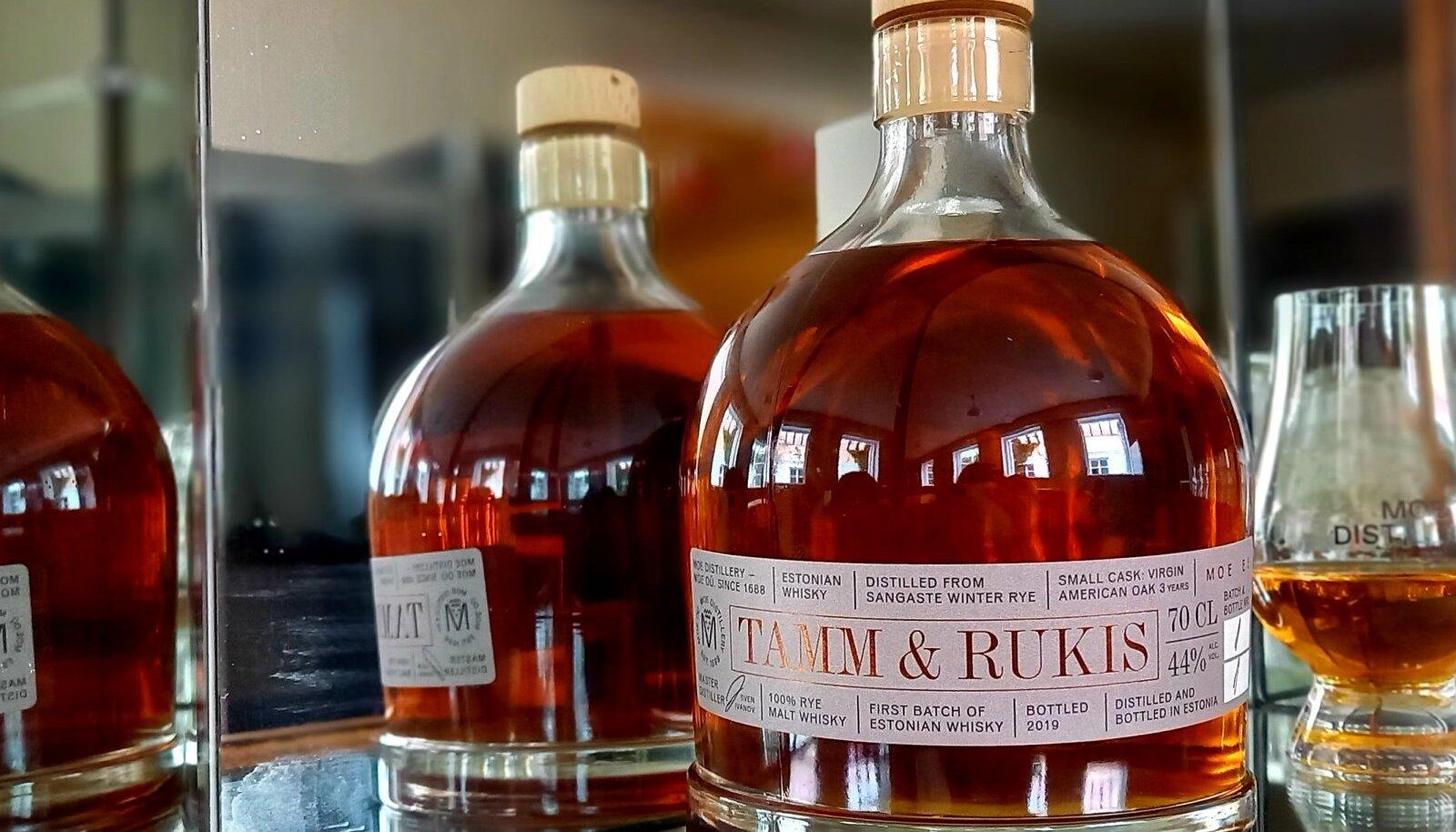 """Eesti esimene viski """"Tamm ja Rukis"""""""