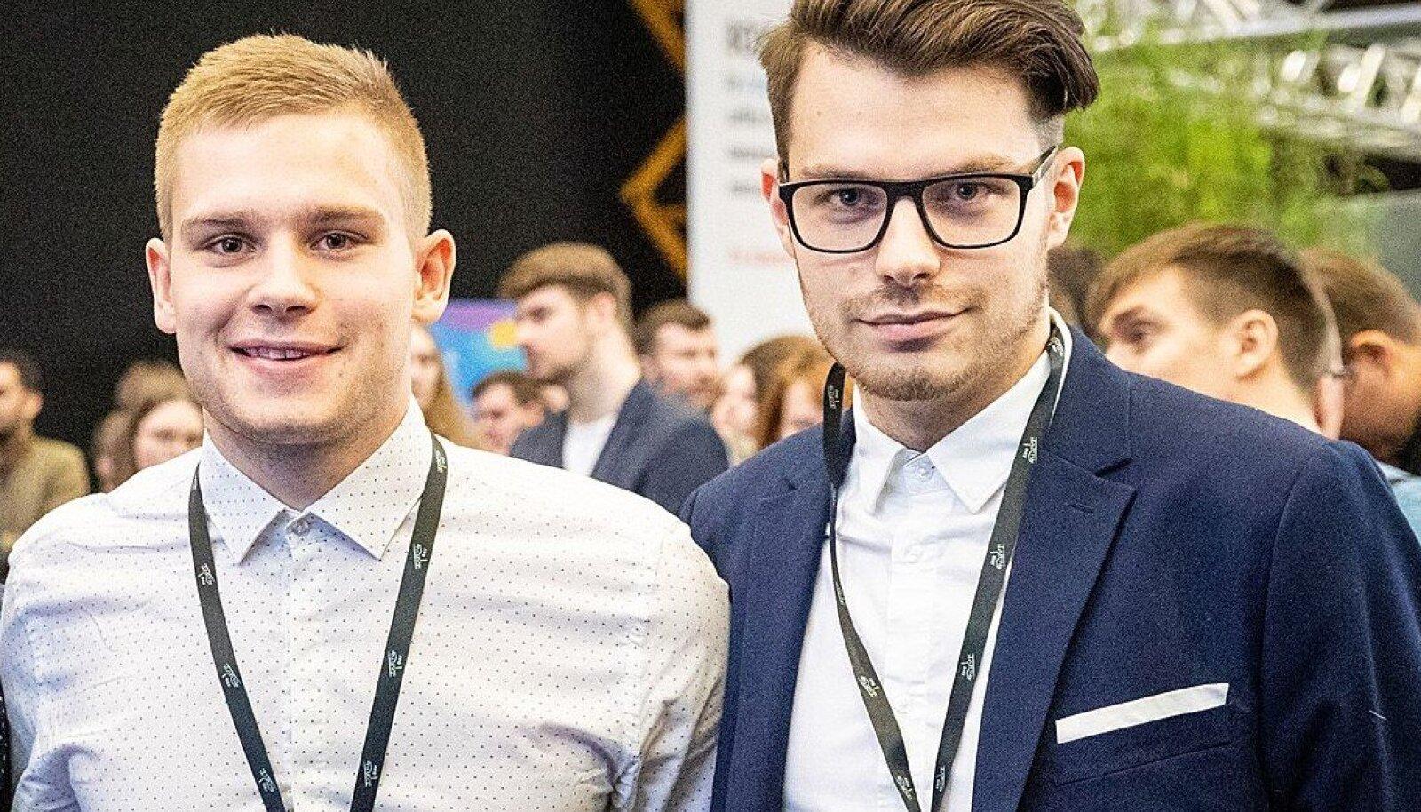 Risto Vaher  ja Kevin Janson
