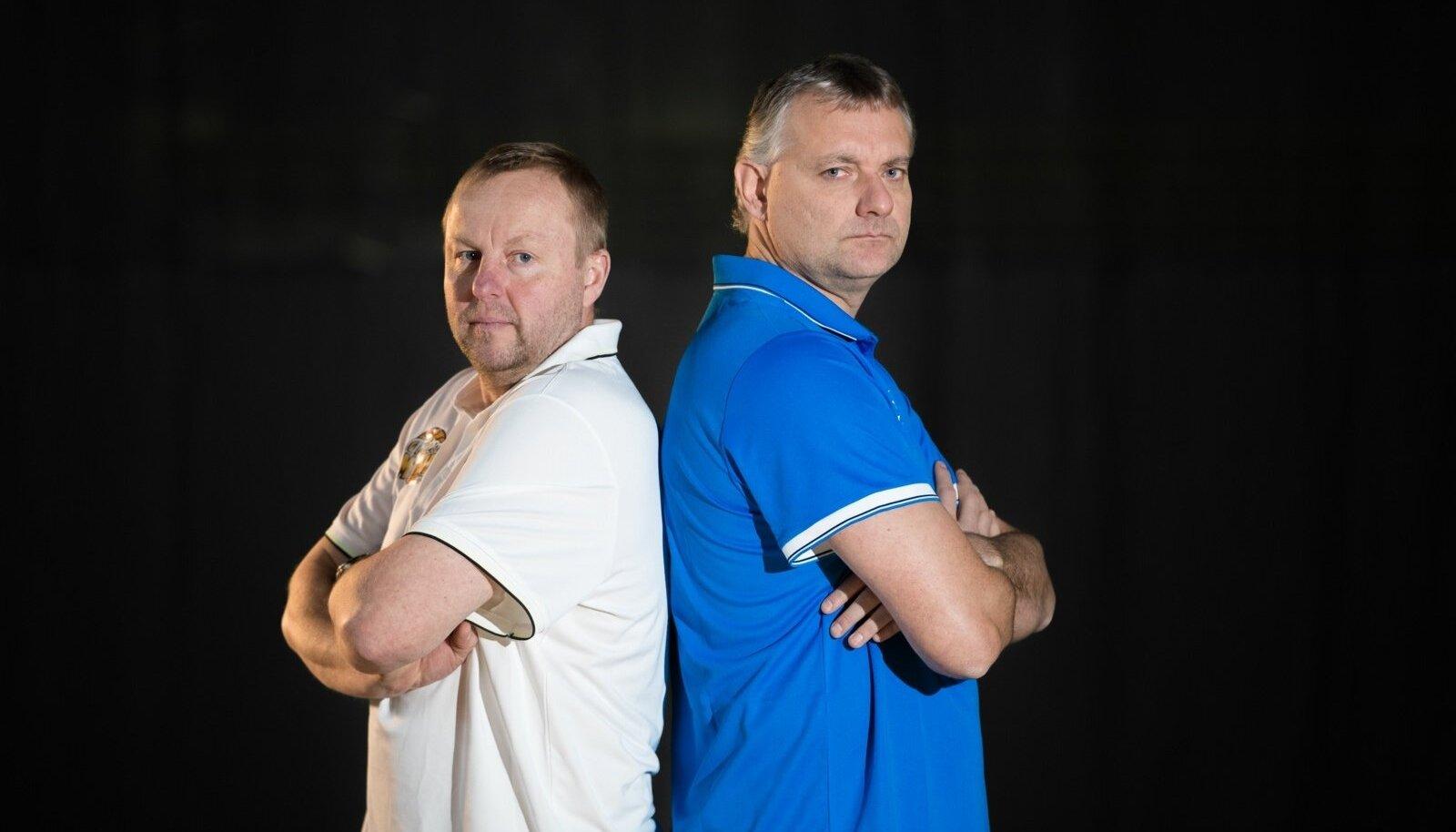 Aivar Kuusmaa ja Gert Kullamäe -  Tähtede Mängu peatreenerid