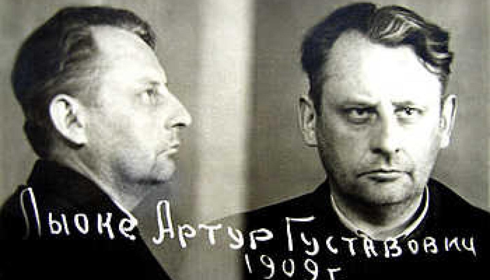 VIIMASED FOTOD: Artur Lõoke Nõukogude julgeoleku vangina vahetult pärast Soomest väljaandmist aprillis 1950.
