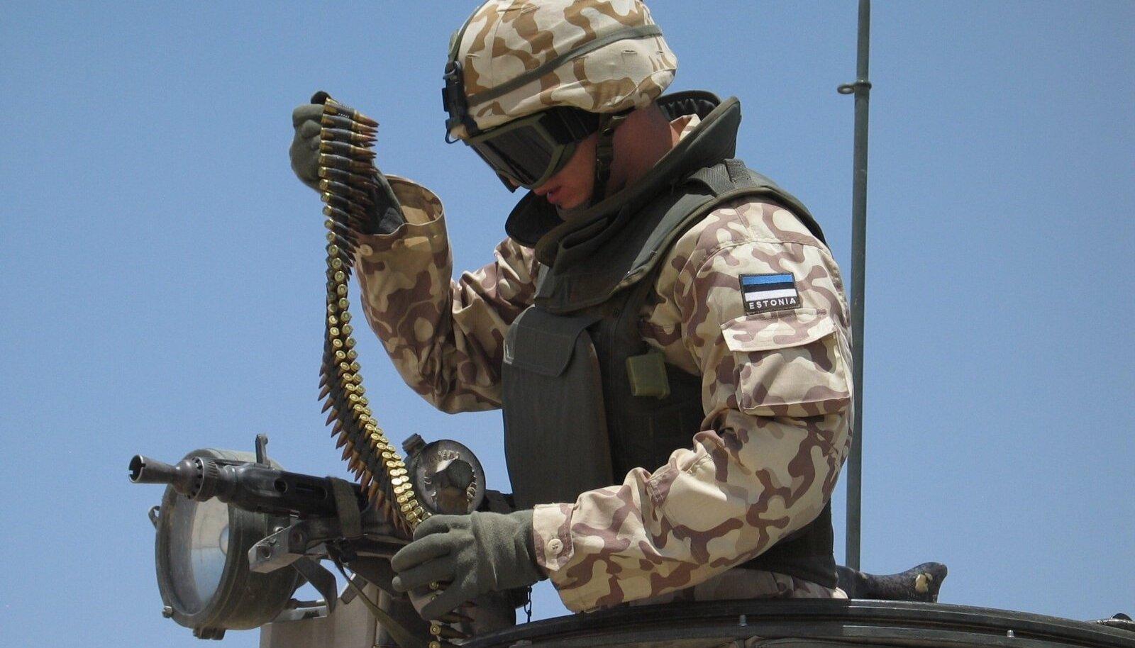 Eesti kaitsevägi Iraagis Ivar Soopan 3