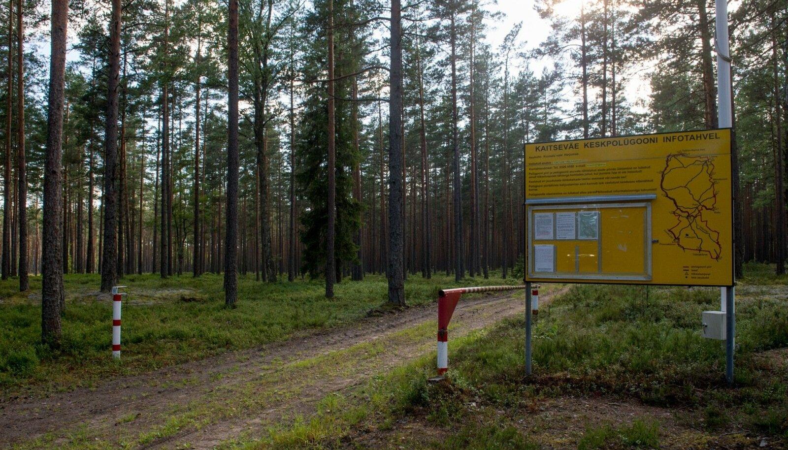 Kaitsevägi on hakanud Kõrvemaal kiirkorras valdusi laiendama.
