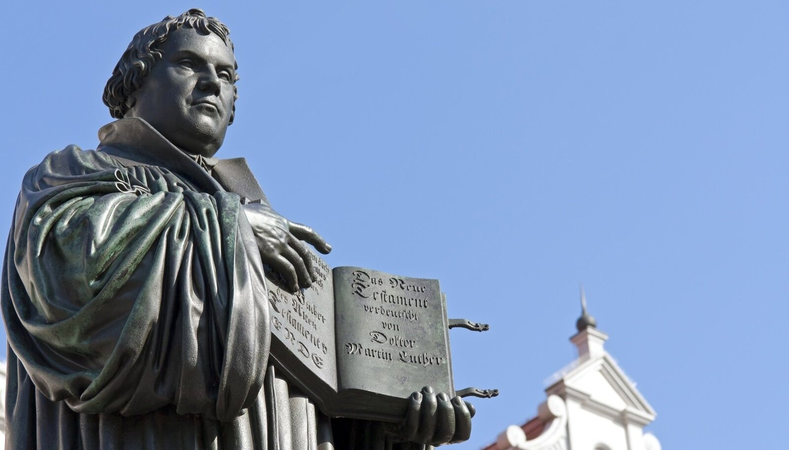 Martin Lutheri monument Wittenbergis
