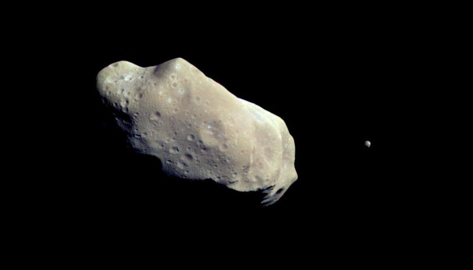 Mõnel asteroidil on olemas ka oma kuu.