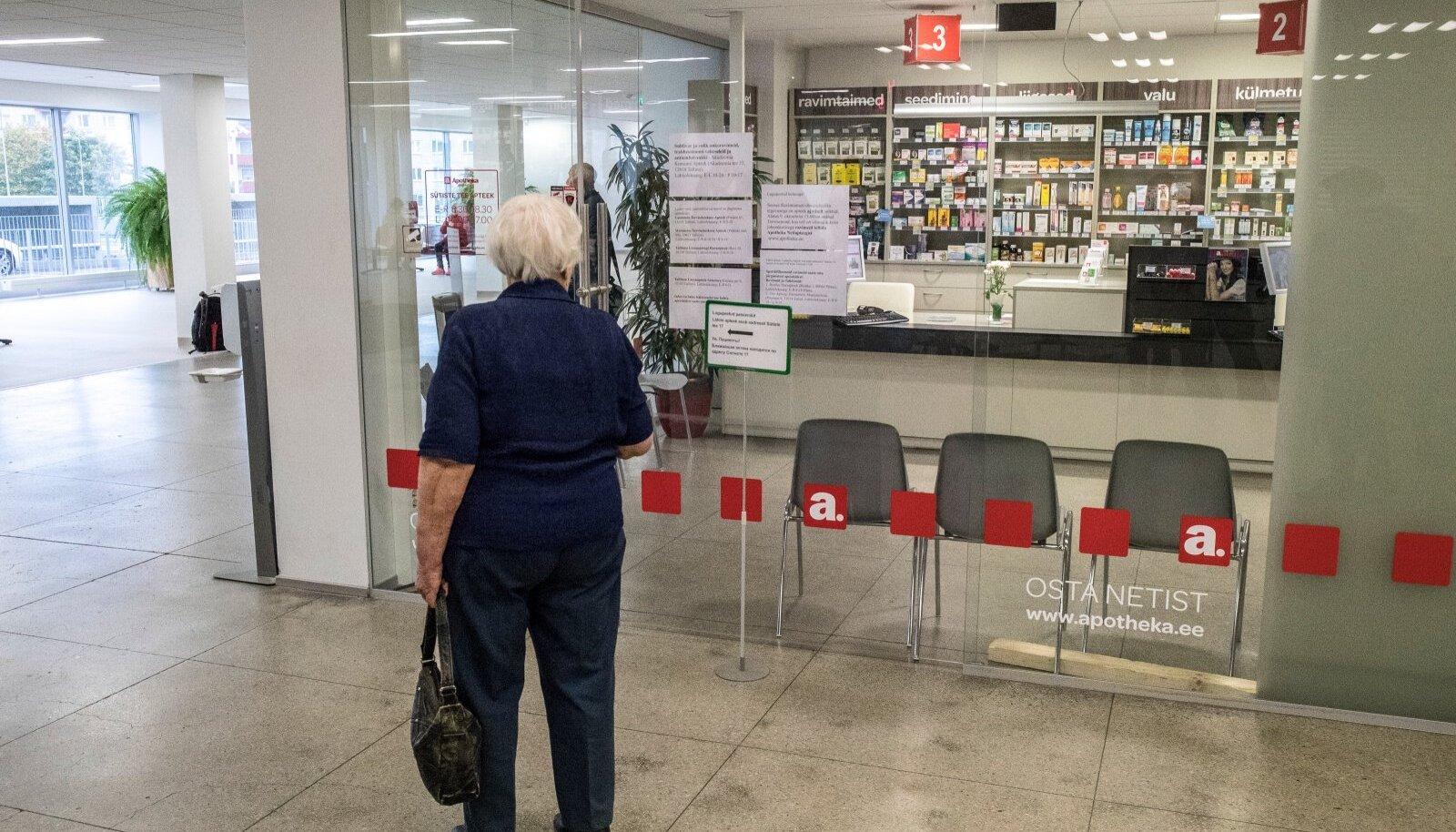 Apteegireformi tõttu võib kaduda umbes 20 apteeki