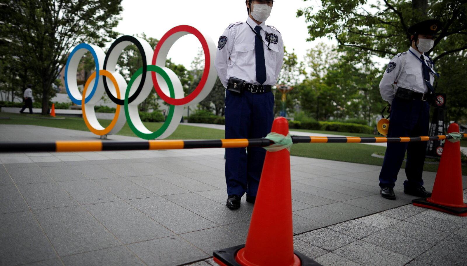 Tokyo ja olümpiarõngad