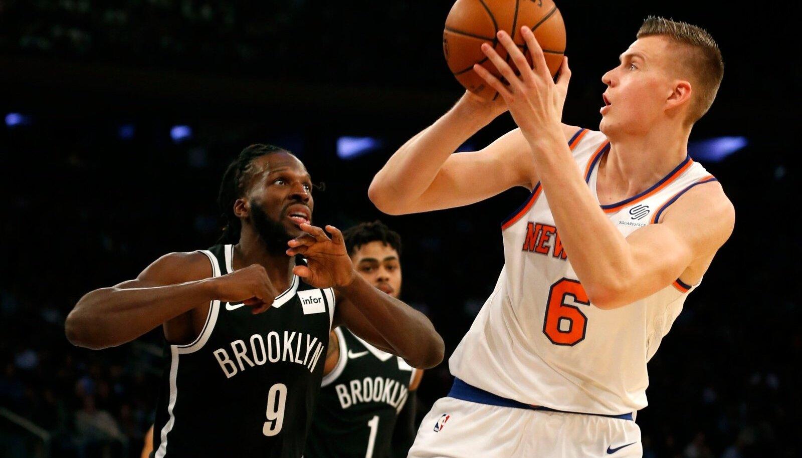 NBA: Brooklyn Nets at New York Knicks
