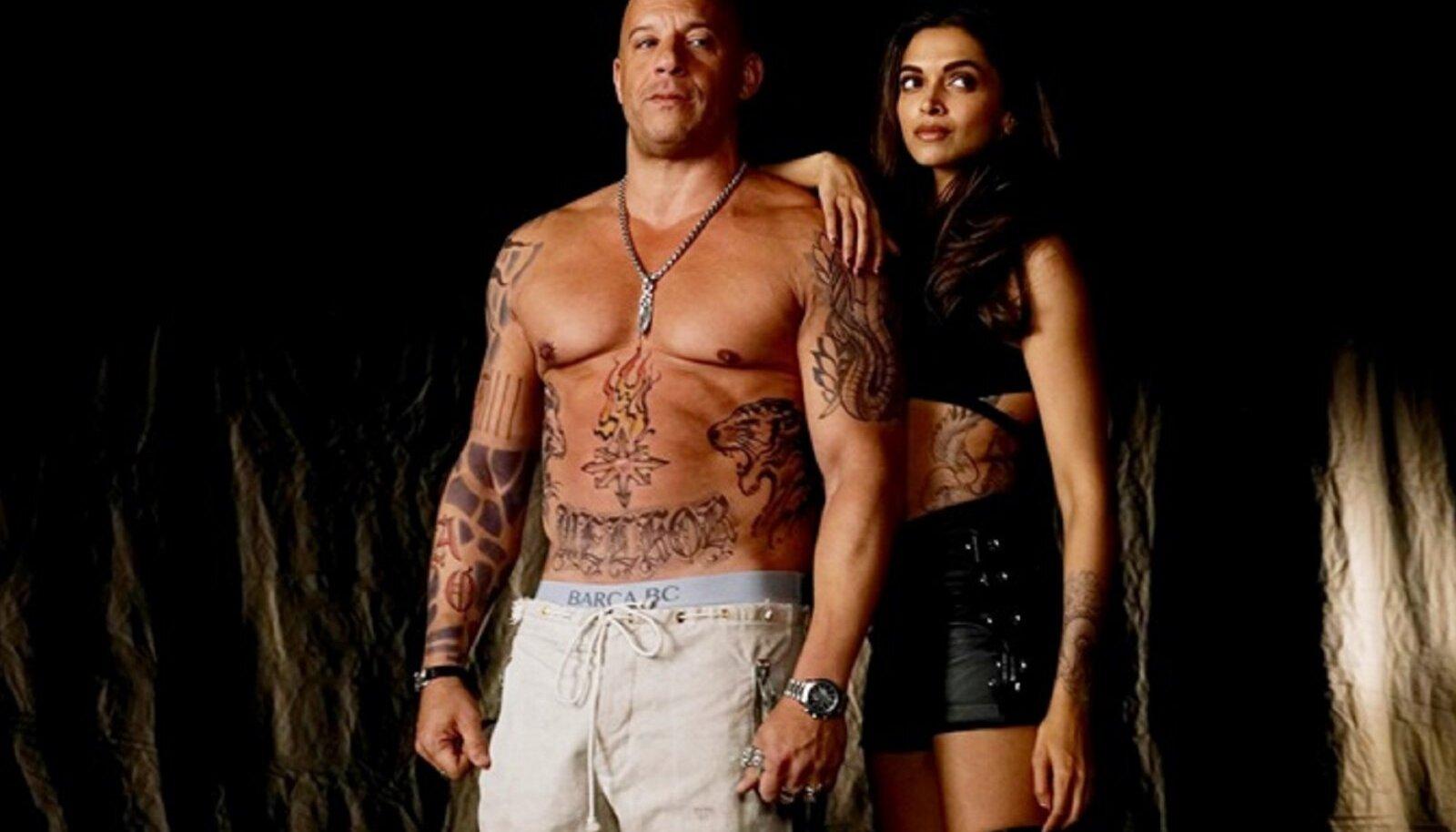 """Vin Diesel filmis """"xXx: Käima tõmmatud"""""""