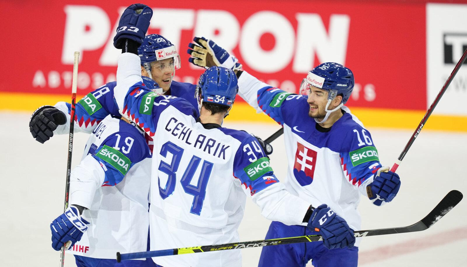 Slovakkia jäähokimängijad