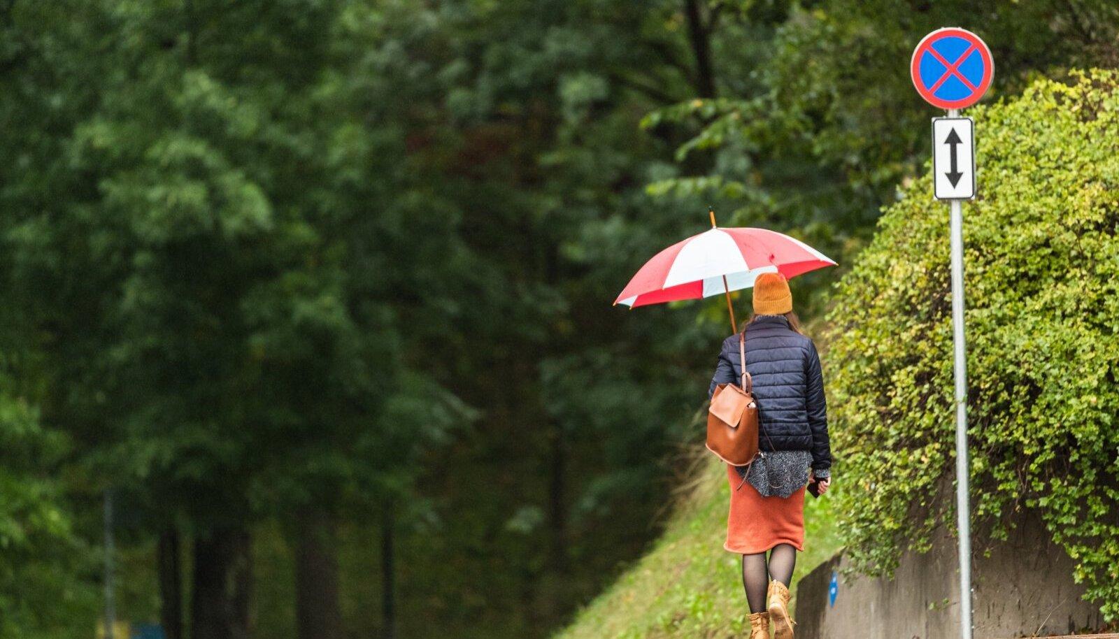 Vihmahood on tuleval nädalal sagedased külalised.