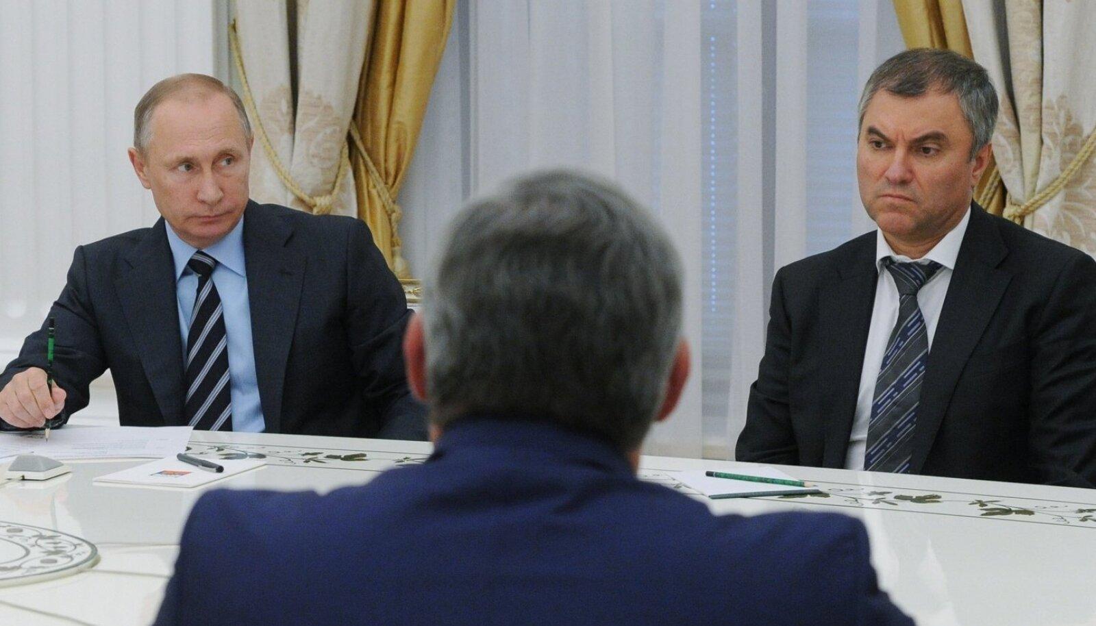 Vladimir Putin, Vjatšeslav Volodin
