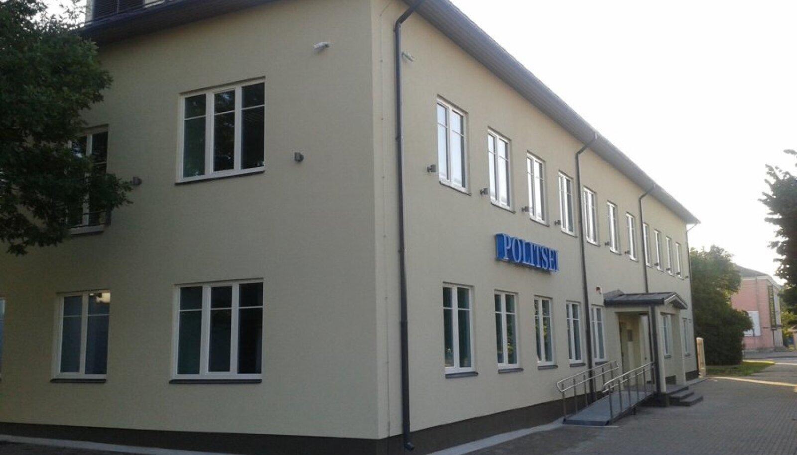 Politsei uus hoone Keilas