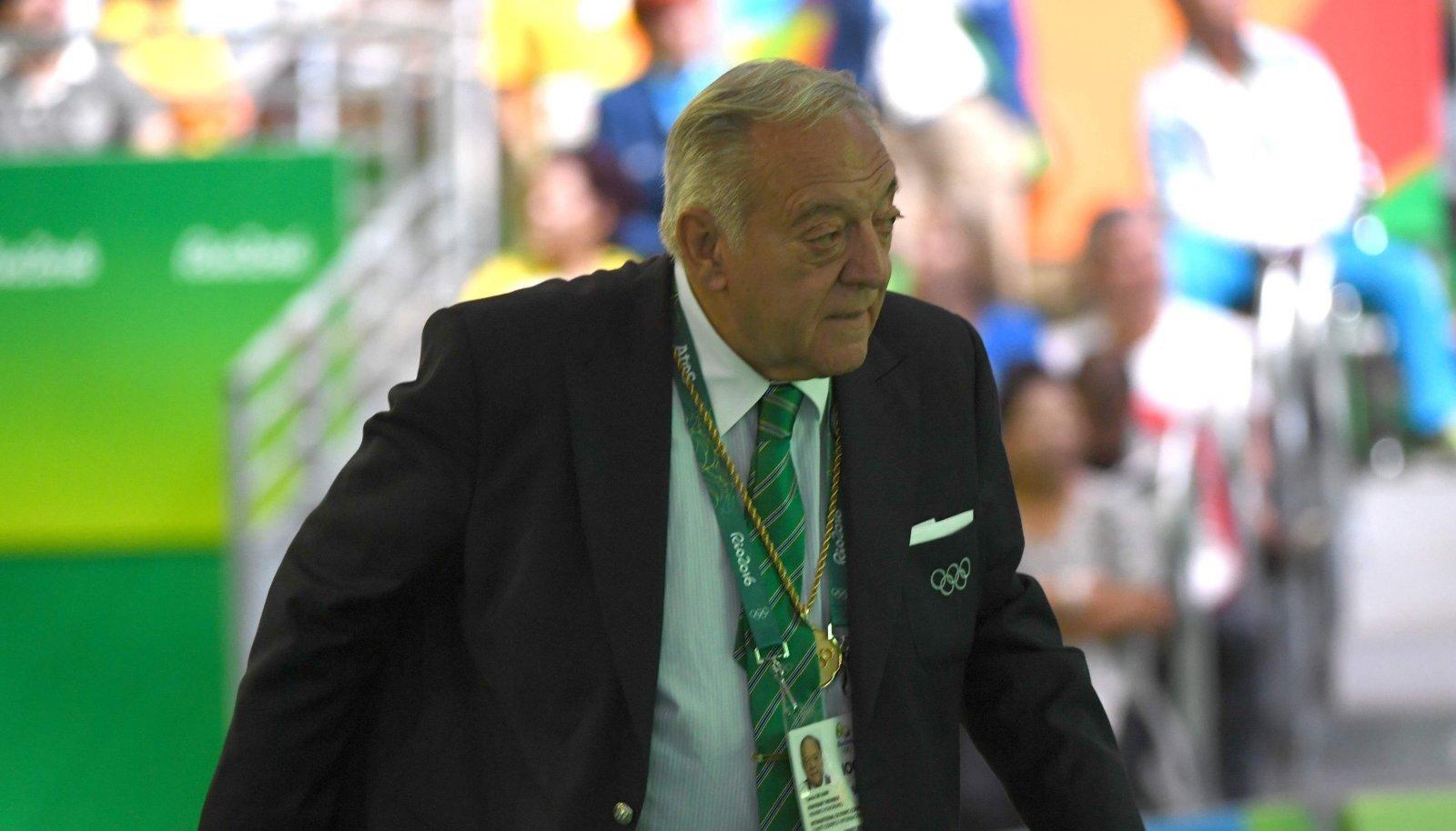 IWF-i president Tamas Ajan.