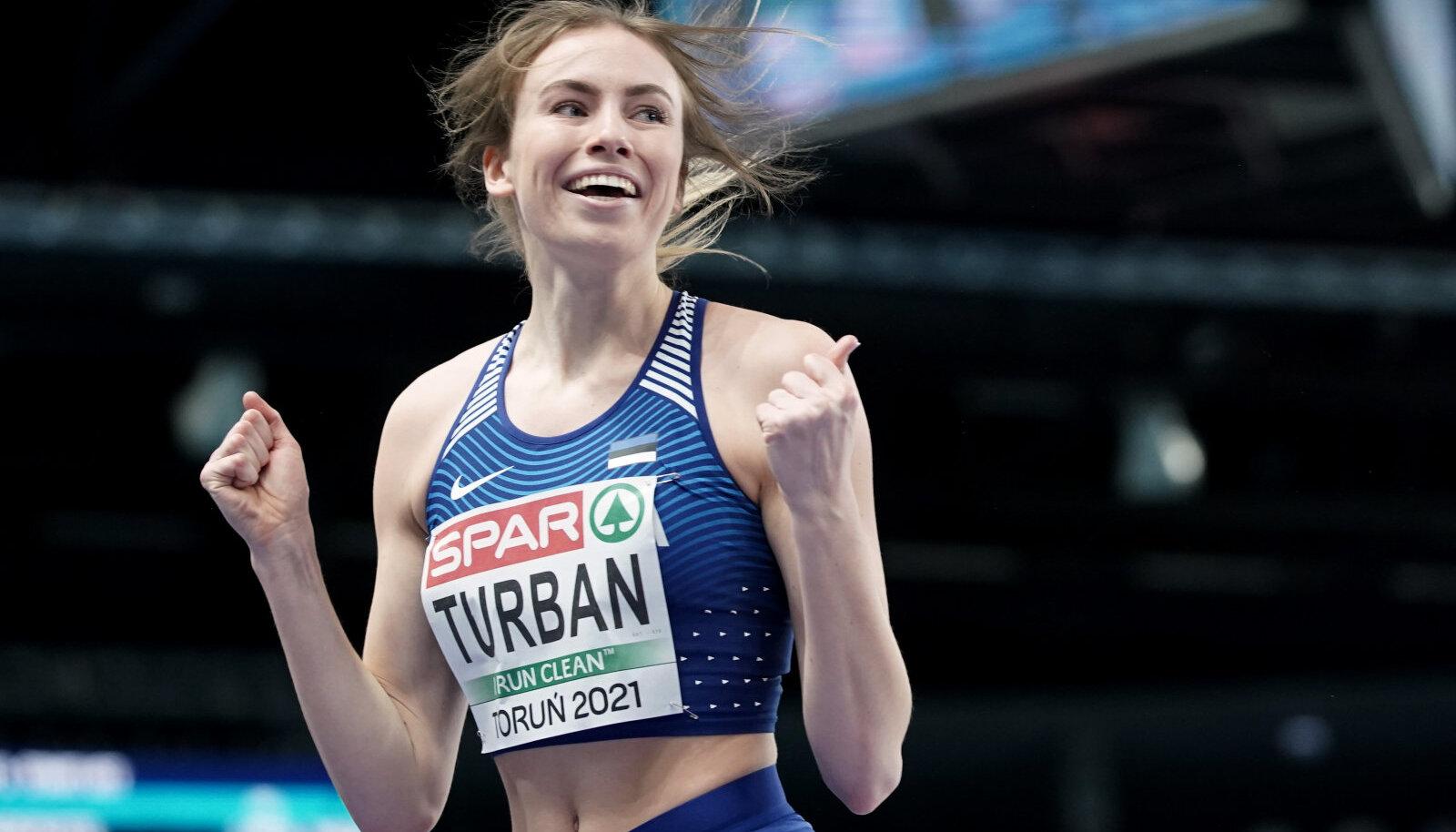 Lilian Turbani esimene tiitlivõistlus õnnestus suurepäraselt.