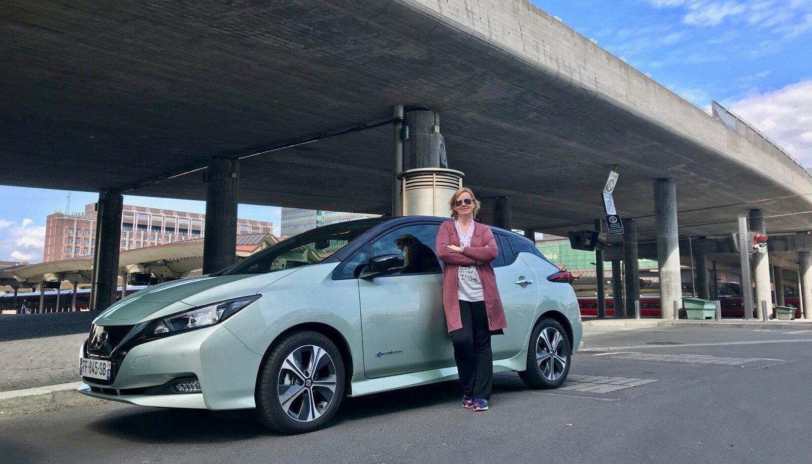 Ylle Tampere ja uue põlvkonna Nissan Leaf