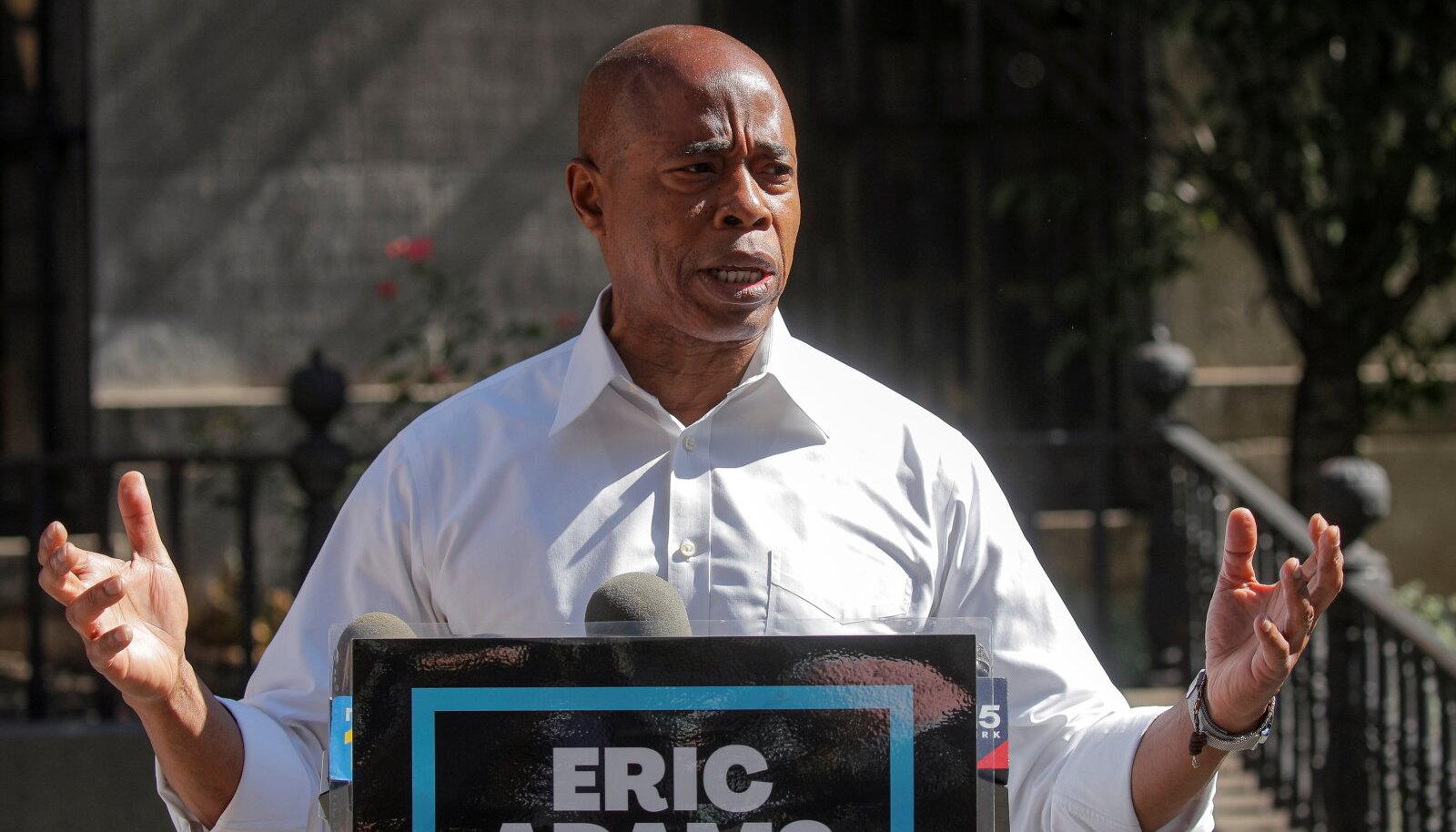 Eric Adams on praegu Brooklyni linnaosavanem