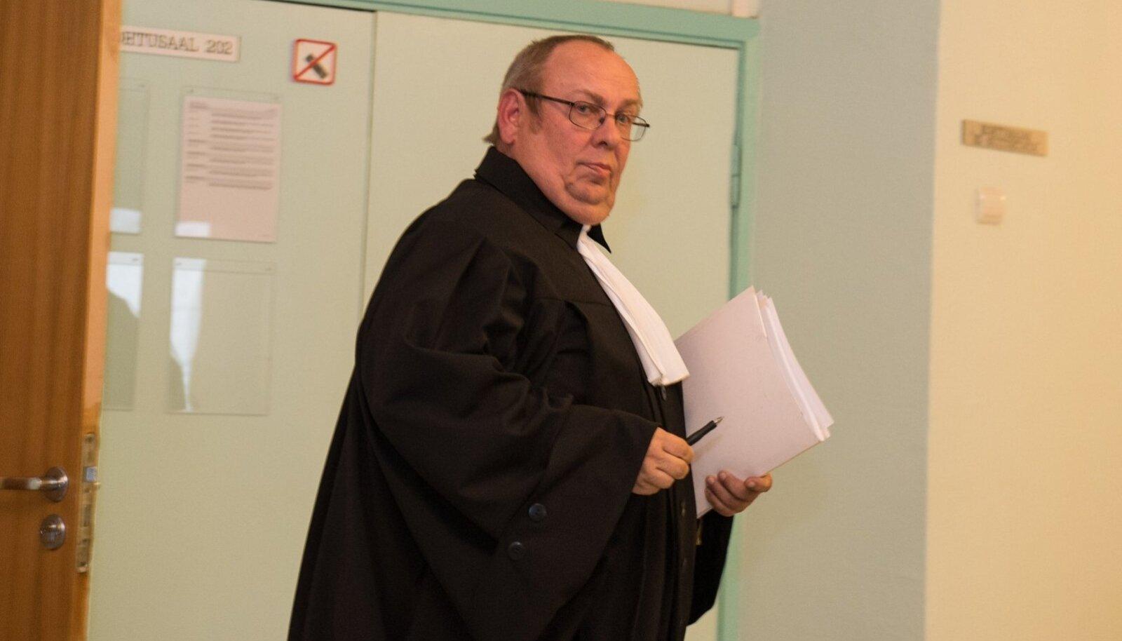 Endine kohtunik Leo Kunman Harju maakohtu Liivalaia kohtumajas