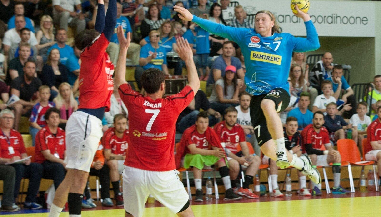 Käsipall Eesti vs Luksemburg