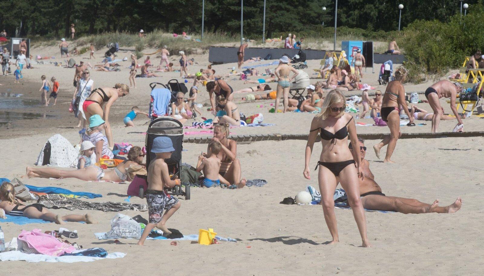Kuumalaine Stroomi rannas