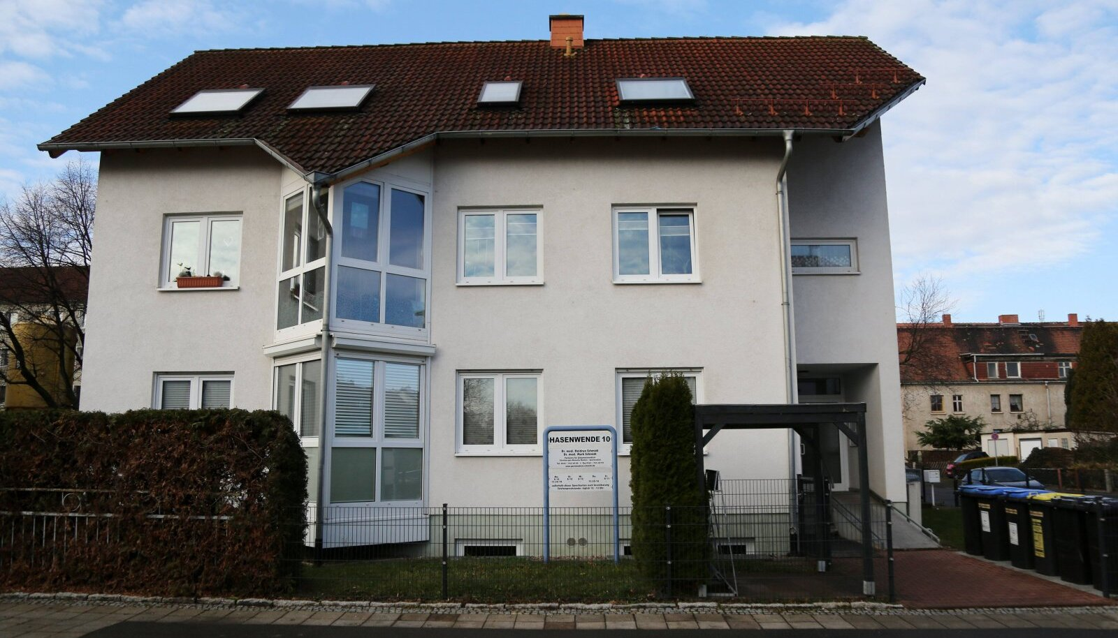 Erfurti maja, kus Mark Schmidt dopingulaborit pidas