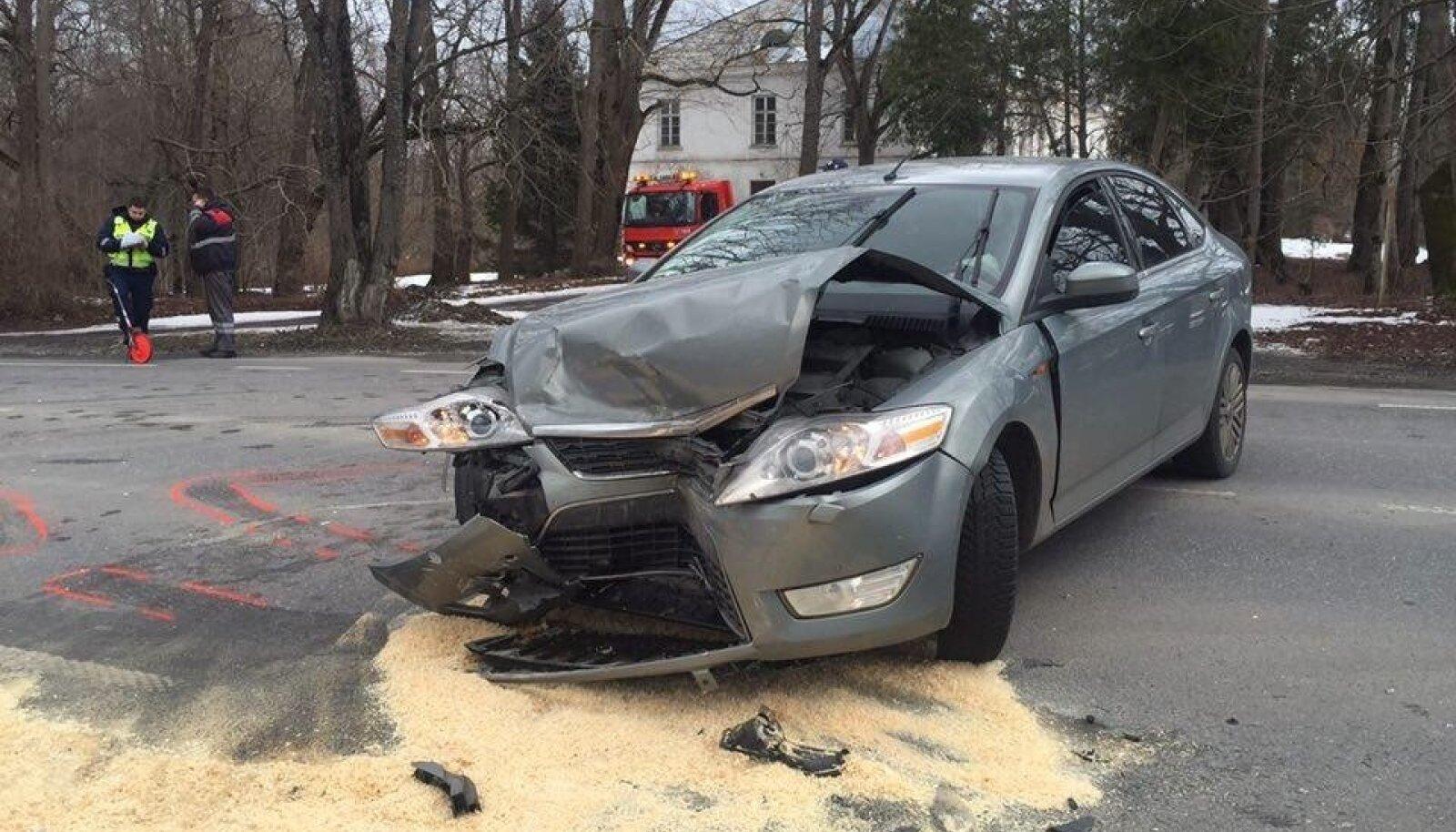 Fordi ja VW kokkupõrge Harkus
