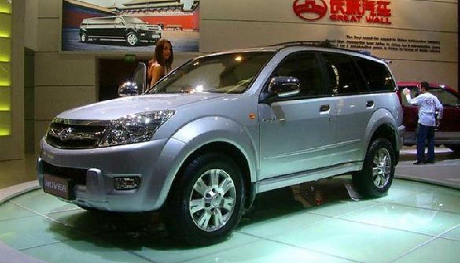 Made in China: Toyota Land Cruiser? Tühjagi! Eestlaste lemmikauto Hiinas valminud kloon kannab nime Great Wall Hover.