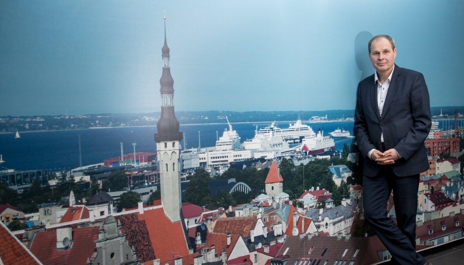 Tallinna Sadama juht Valdo Kalm suutis tänavu börsiettevõtte kasumit kasvatada.