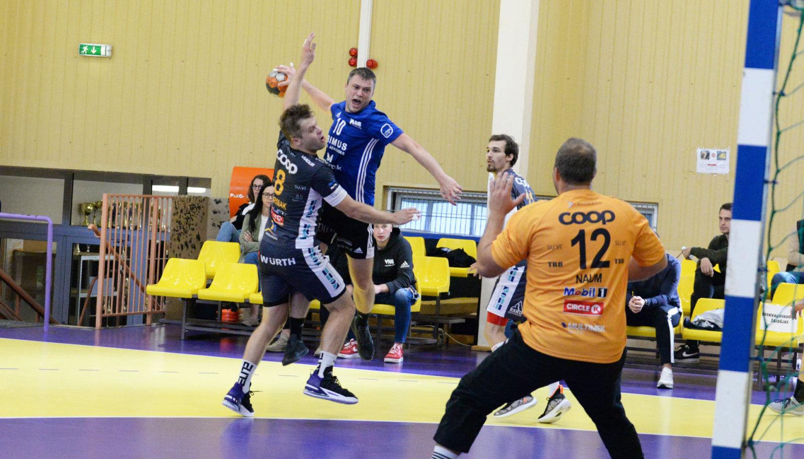 Hetk väga võitluslikust kohtumisest Leedu meistri Vilniuse VHC Šviesa ja Eesti karikavõitja HC Kehra/Horizon Pulp&Paperi vahel.