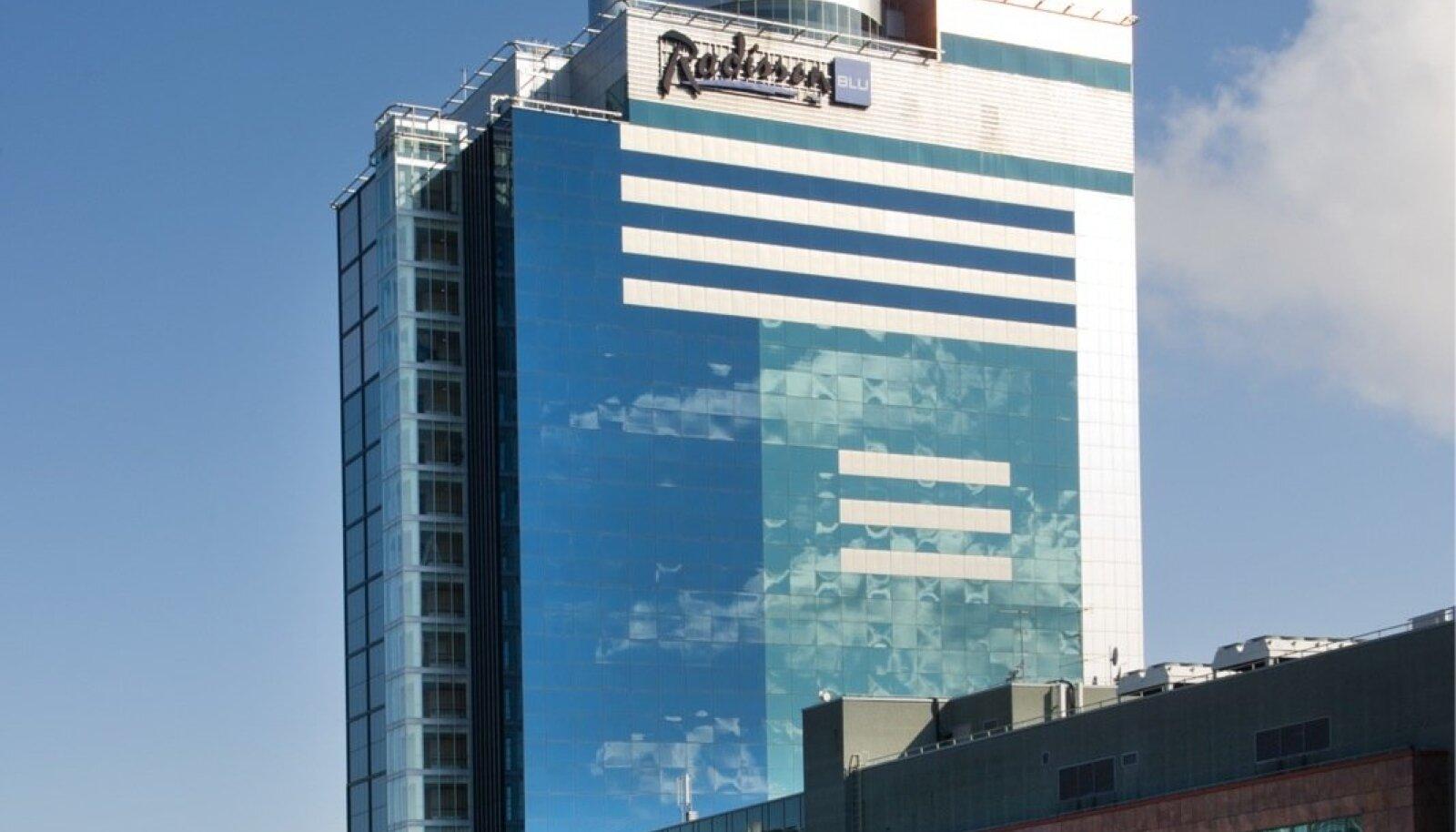 Radisson Blu Hotel Tallinn Rävala puiesteel