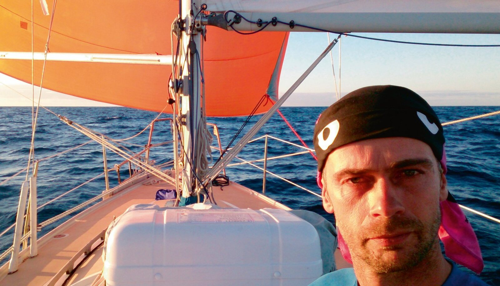 Selfie Lõuna-Atlandil.