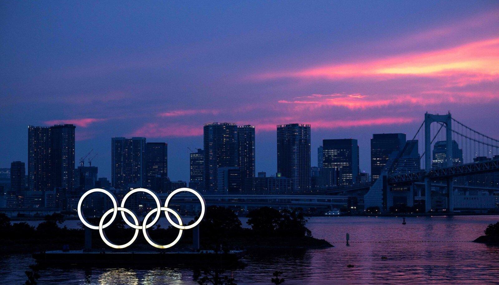 Jaapani pealinna olümpia alguseks kavandatud kohtumine jäi ära.