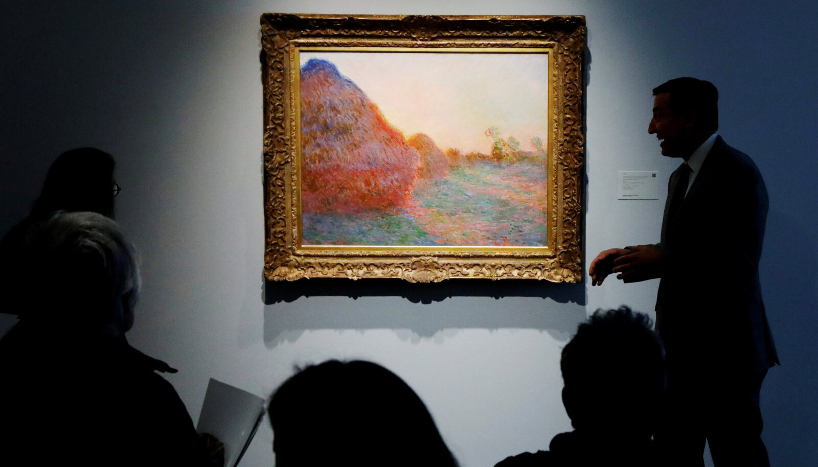 Claude Monet maal Les Meules tegi oksjonil impressionistide teoste seas tippmargi