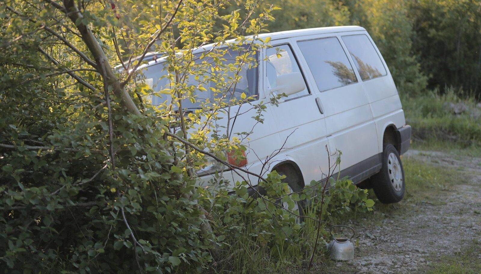 Liiklusõnnetus Paldiskis.