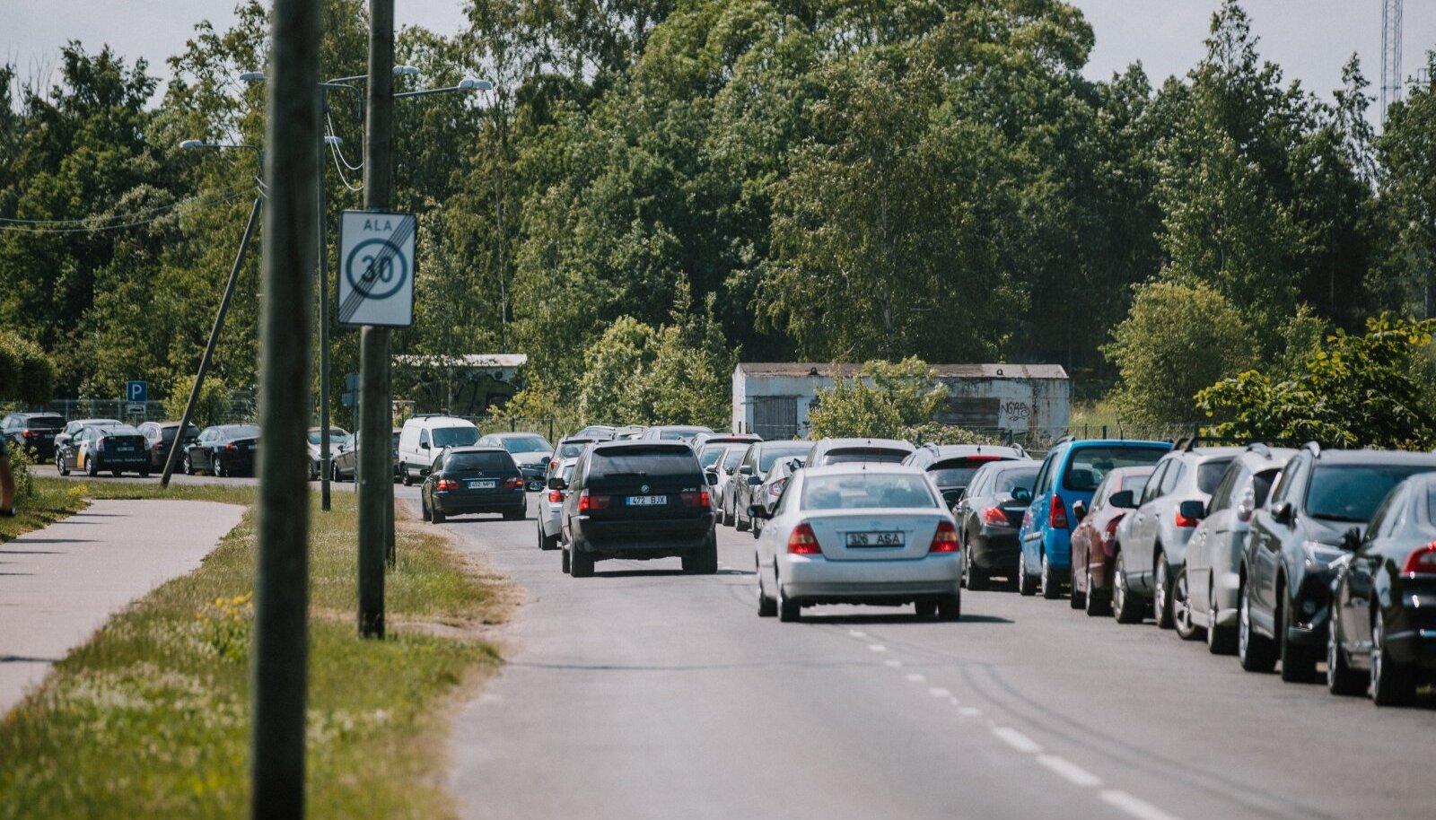 Sõiduautod liikluses