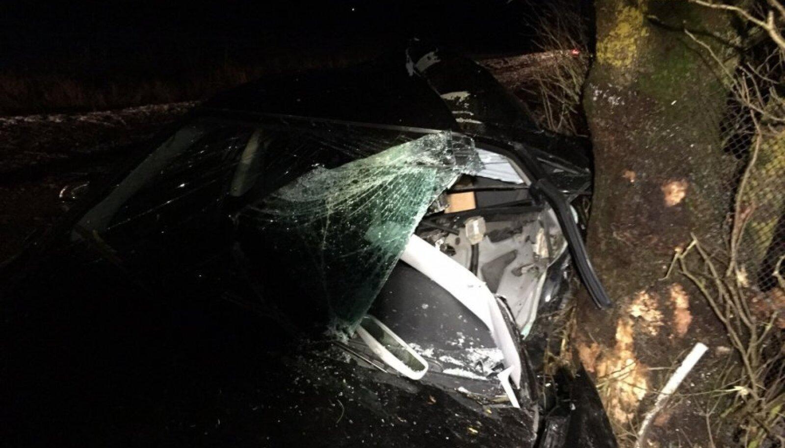 Lääne-Virumaal toimus hukkunuga liiklusõnnetus