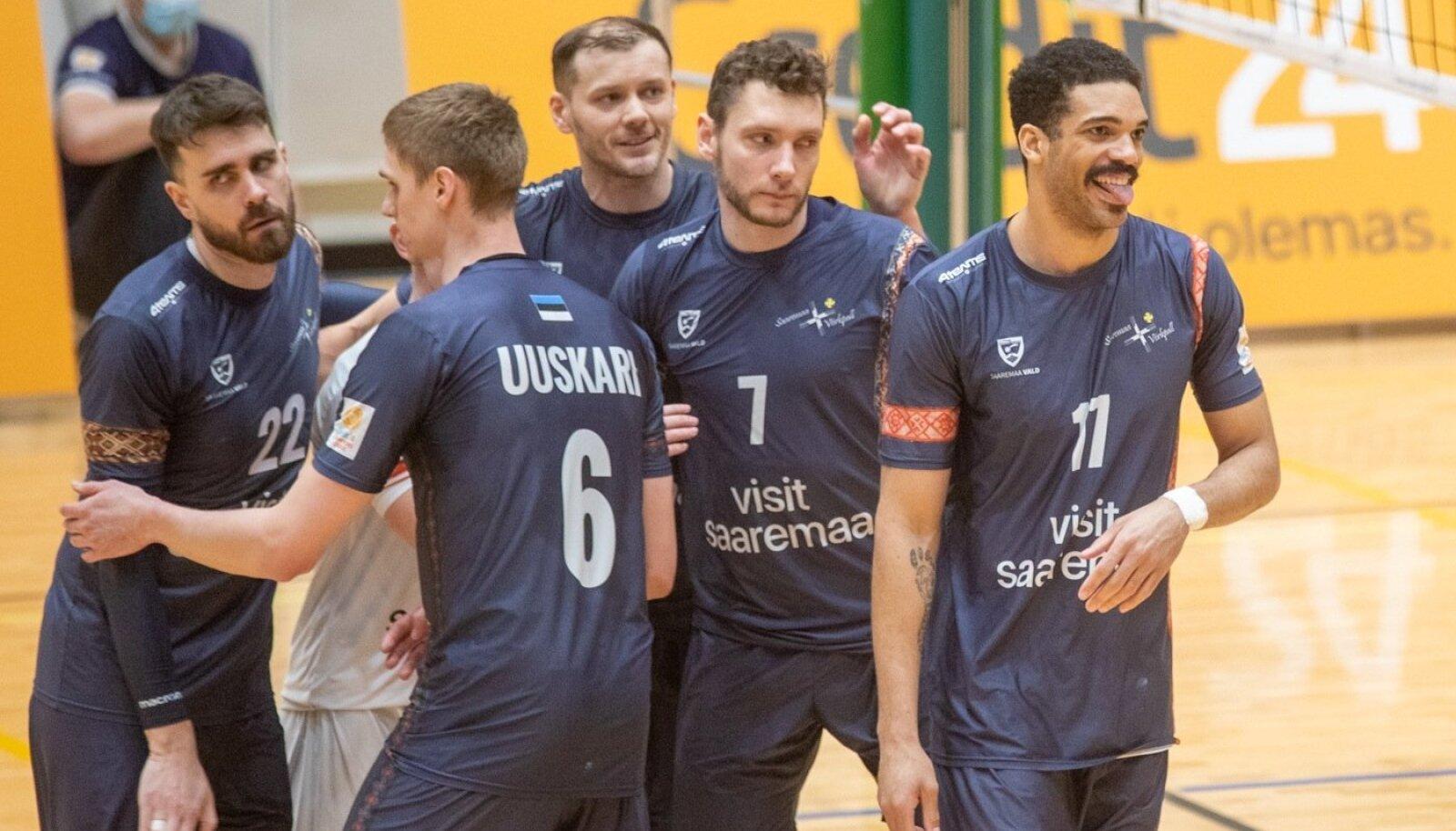 Saaremaa näitas suurt meeskonnahinge.
