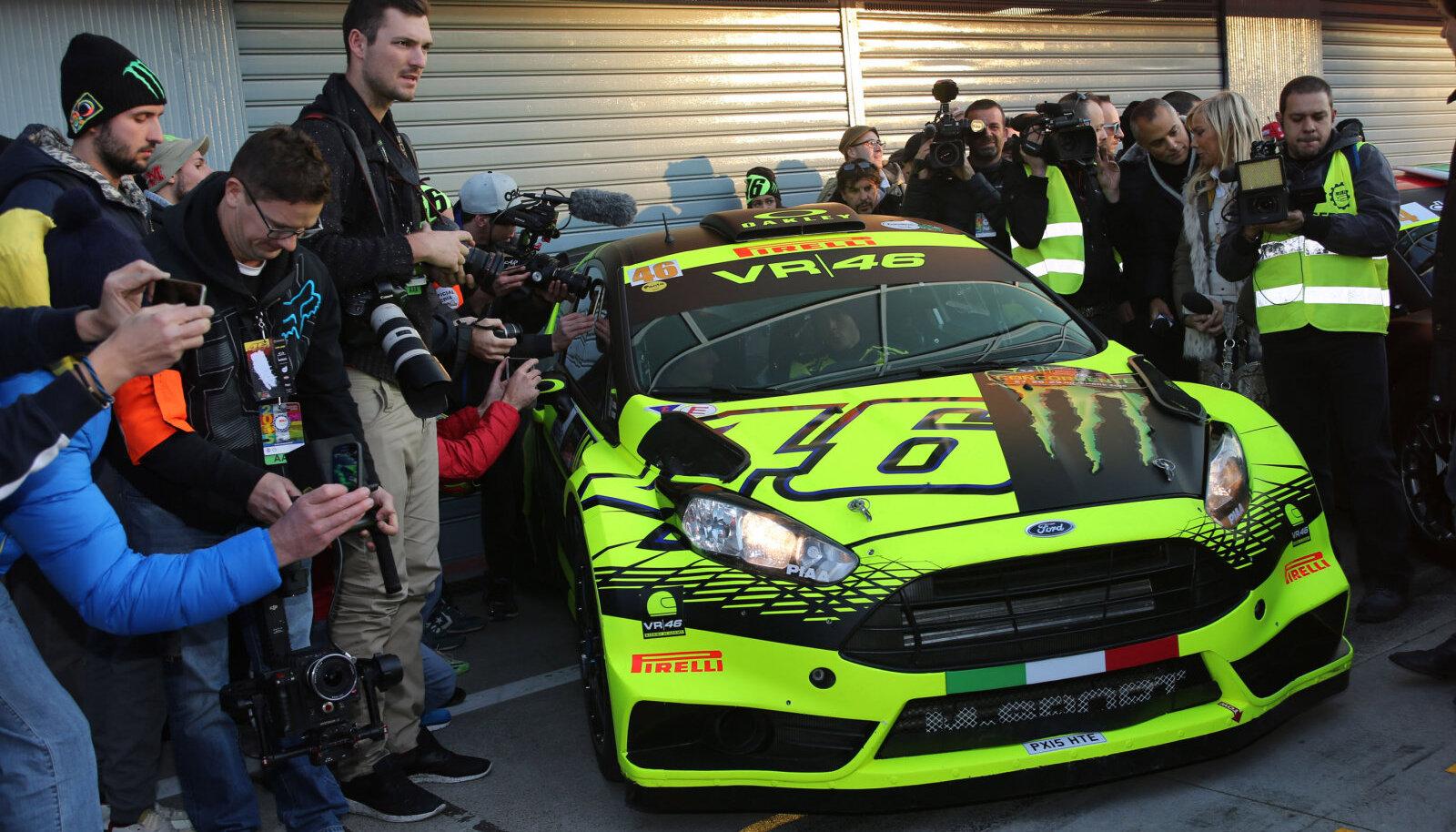 Valentino Rossi on Monzas olnud sage külaline