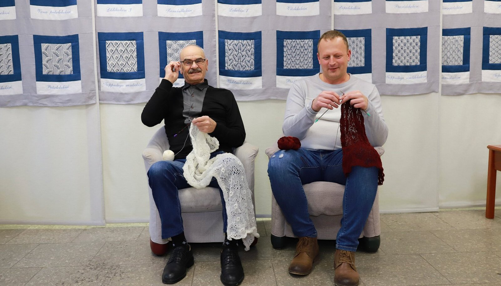 Elmar Loorits ja Andero Paalvelt.