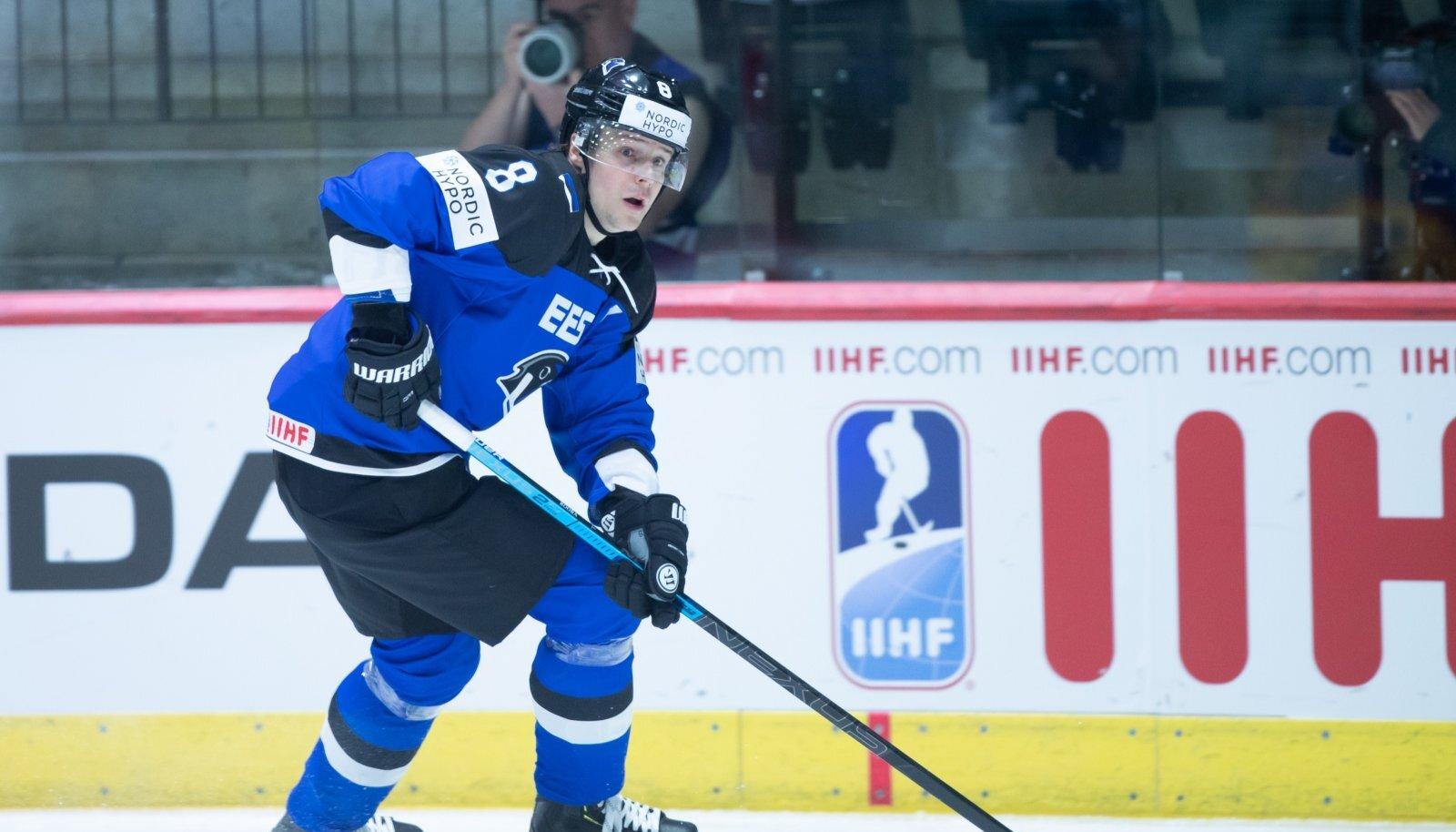 Tallinnas toimuval jäähoki MM-turniiri I-divisjoni B-grupi turniiril võõrustas Eesti jäähokikoondids Rumeenia meeskonda. Normaal- ja lisaaeg lõppes 3:3 viigiga, karistusvisetega sai 4:3 võidu kirja Rumeenia.
