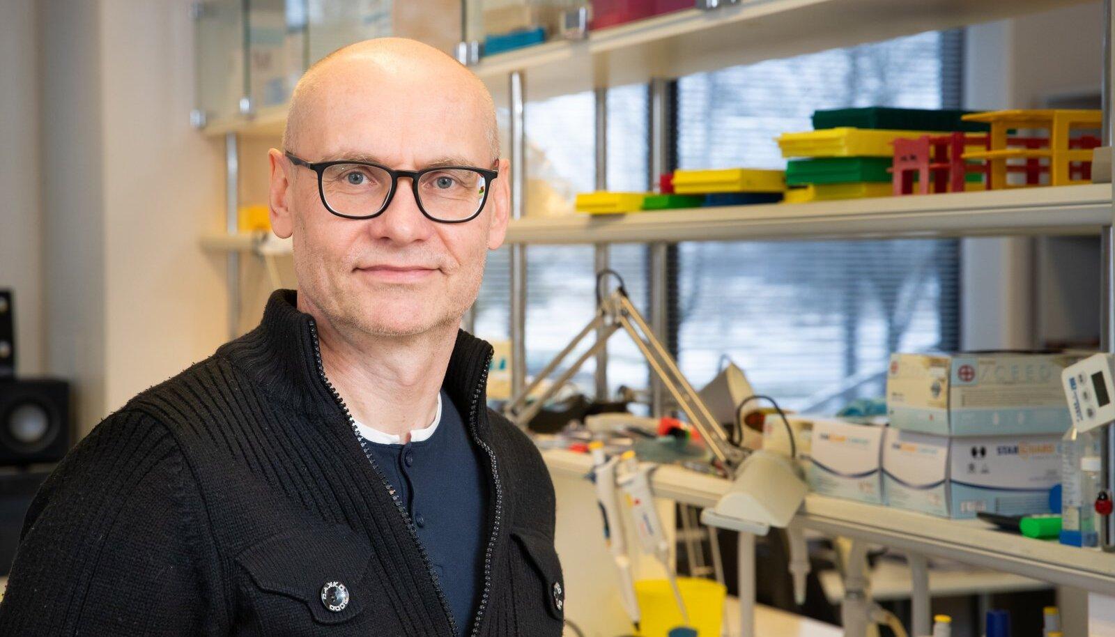 Tartu ülikooli molekulaarimmunoloogia professor Pärt Peterson.