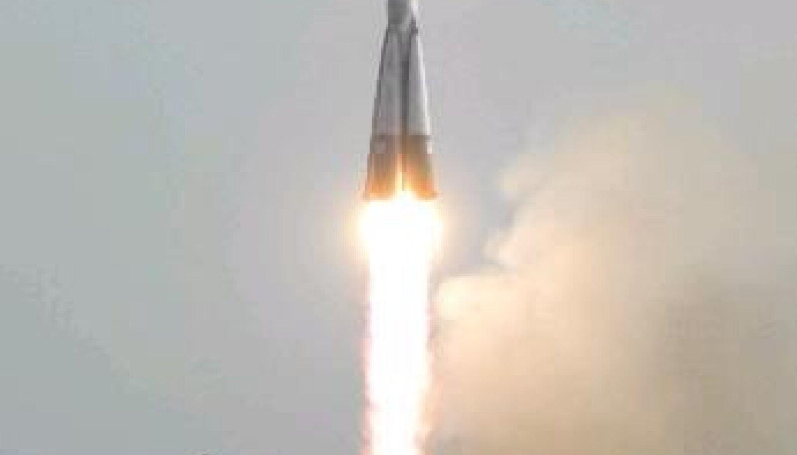 Sojuz TMA-4 raketi start