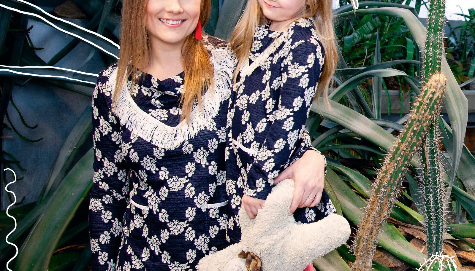 Inga ja Nora Ann on koos kasvades kokku kasvanud, kuid nüüd saab tütar tänu ema õpetusele juba ka iseseisvalt hakkama. Näiteks pangas.