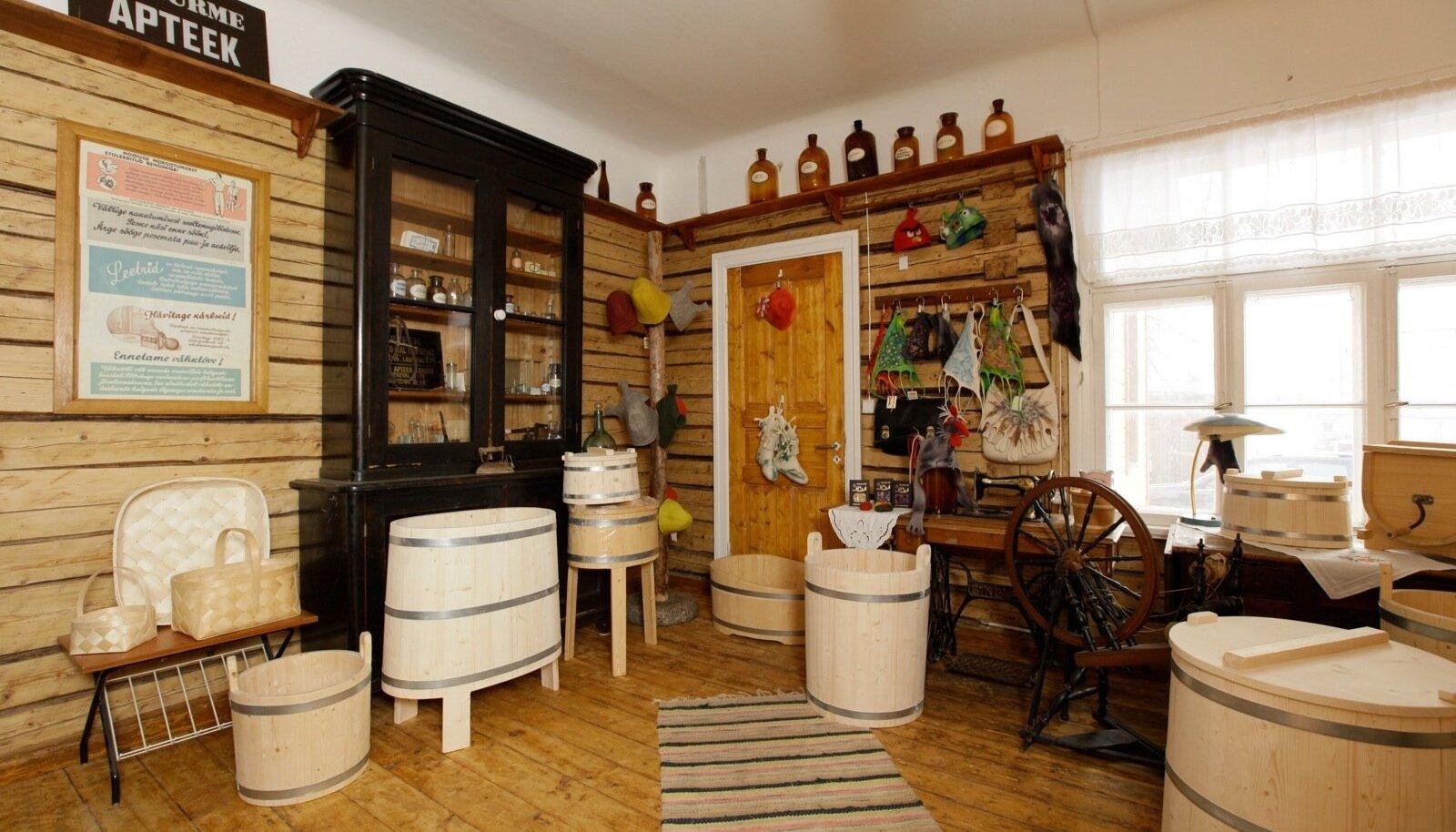 OÜ Puunõu, Avinurme kohvik ja äri