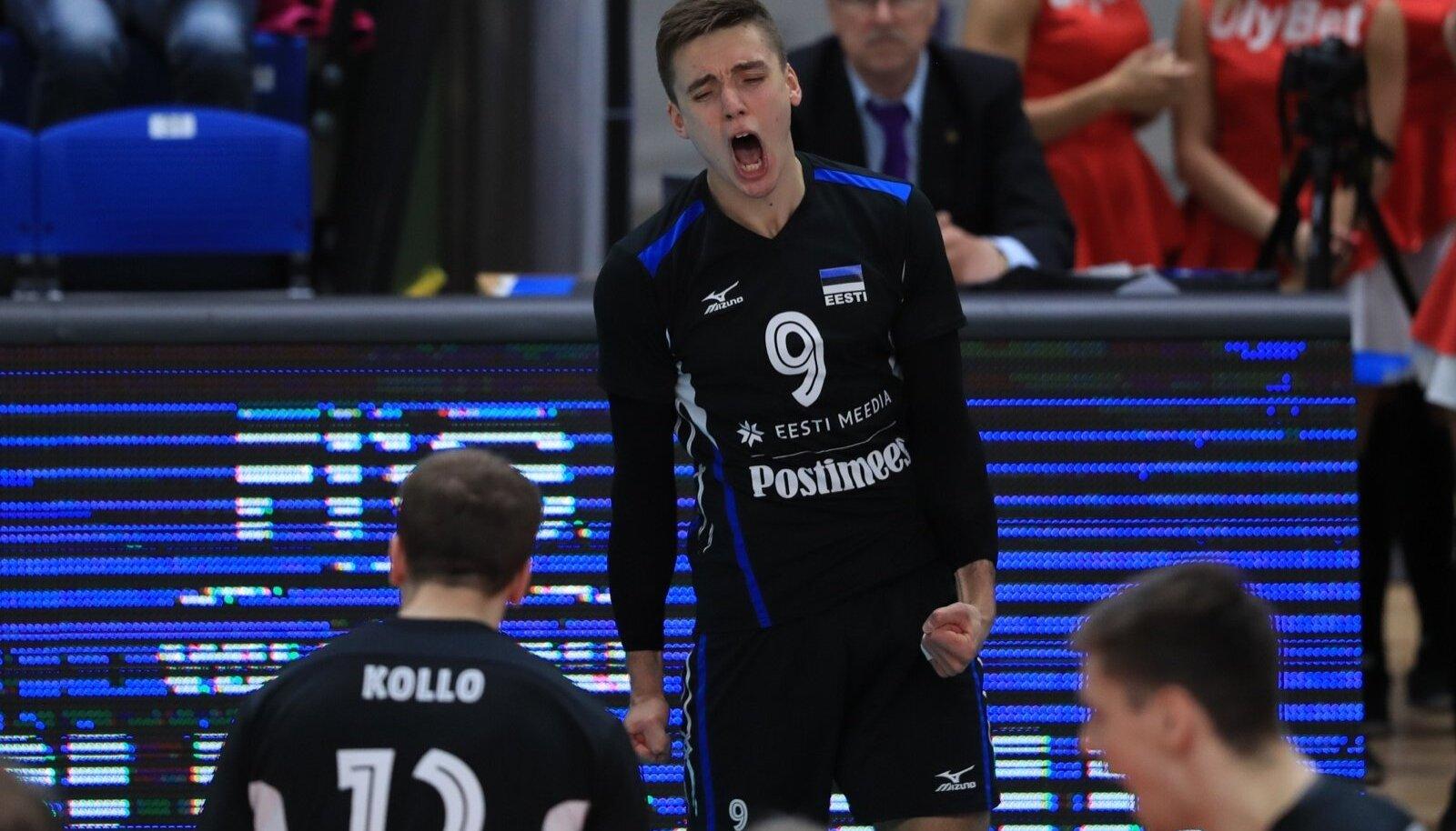 Robert Täht (nr 9) vedas Eesti siiski Kreekat võitma.